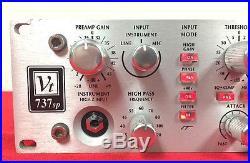 Avalon 737SP Tube Mic Pre EQ Compressor VT 737 SP Preamp RED LEDNEEDS REPAIR