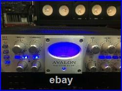 Avalon 737SP Tube Mic Pre EQ/Compressor VT 737 SP / pre amp /BLUE LED //ARMENS