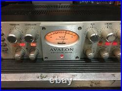 Avalon 737SP Tube Mic Pre EQ/Compressor VT 737 SP / pre amp /clean //ARMENS//