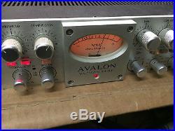 Avalon 737SP Tube Mic Pre EQ/Compressor VT 737 SP/preamp/rack/clean//ARMENS