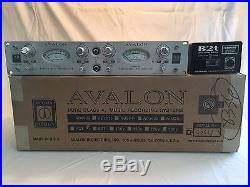 Avalon AD2022 2-channel Pure Class A Microphone Preamp with DI's Pro Audio