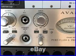 Avalon Design AD2022 Dual Mono Microphone Preamp & DI