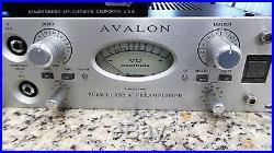 Avalon Design AD2022 Dual Mono Pure Class A Preamplifier