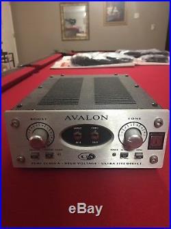 Avalon U5 1-channel Active Preamp / Direct Box
