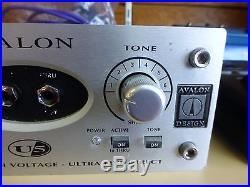Avalon U5 High Voltage Preamp Direct Box