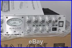Avalon VT-737SP Legendary Mic Preamp-Compressor-EQ Channel Strip, Virtually NEW