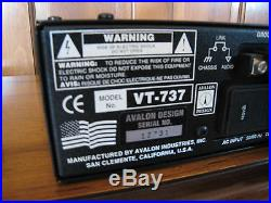 Avalon VT-737SP Mic Pre/EQ/Compressor Channel Strip MINT