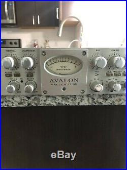 Avalon VT-737SP Tube Channel Strip Mic Preamp Compressor