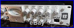 Avalon VT-737 SP Class A Tube Microphone Preamp Compressor Mint Condition