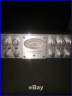 Avalon VT-737sp Class A Mono Tube Channel Strip Microphone Pre VT-737 SP Preamp