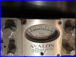 Avalon VT-737sp Professional Studio Mic Pre, DI, Compressor And EQ