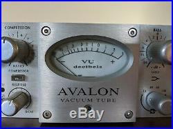 Avalon VT-737sp Tube Mic Pre Amp EQ/Compressor Vacuum Tube