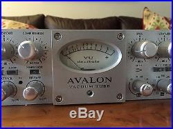 Avalon VT-737sp Tube Mic Pre EQ/Compressor
