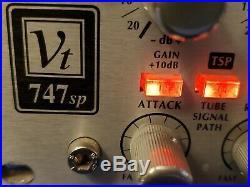 Avalon VT-747SP Stereo Discrete Class A Vacuum Tube Compressor with EQ VT747 SP