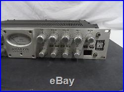 Avalon Vt 737SP Tube Channel Strip Free Shipping! No Reserve! #A922