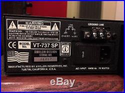 Avalon Vt-737sp 10th Aniversary Edition