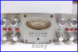 Avalon Vt 737sp Tube Channel Strip, Mic Preamp, EQ, Compressor NO RESERVE
