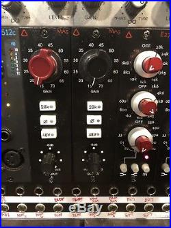 Avedis MA5 500 series Mic Preamp, Microphone Pre-Amplifier (Red Knob) NR