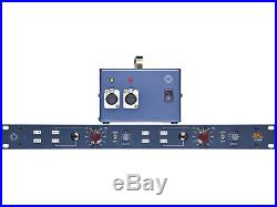 BAE 1073MP Dual Channel Microphone Preamp with Power Supply