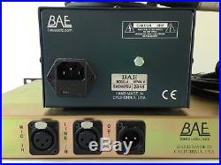 BAE 1073 Mic Preamp + EQ withPower Supply Perfect Condition Neve style Sound