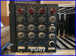 BAE Neve 1073 MIC PRE/EQ Vertical Module (#3) Brent Averill Preamp Equalizer