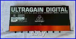 Behringer ADA8200 Ultragain Digital Microphone Preamp