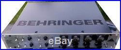 Behringer T1953 Tube Ultragain Microphone Preamp Rack Mount