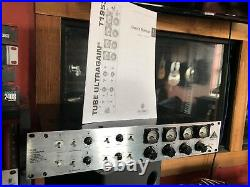Behringer T1953 Vintage Series Dual Tube Mic Pre-amp WITH MANUAL