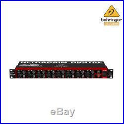 Behringer ULTRAGAIN ADA8200 ADAT Audio Interface MIDAS PreAmp Global V 100-240V