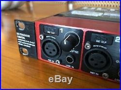 Behringer Ultragain Digital ADA8200 8 In/Out ADAT Audio Interface with preamps