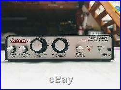 Bellari MP110 Direct Drive Tube Mic Preamp UPGRADED TUBE- with Power Supply