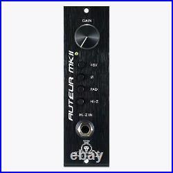 Black Lion Audio Auteur MKII 500-Series Mic Preamplifier MK2 Microphone Pre