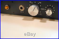Brent Averill 1272 Vintage Neve Mic Preamp pair with Power Supply