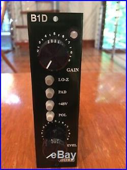 Burl Audio B1D 500 Series Microphone Preamp