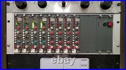 CALREC PQ1625 x4 Comp/Expander/Gate DL1656 Compressor Limiters/ x4 + ELCO cable