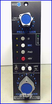 CAPI VP28 Dual Stage 500 Series Mic Pre with Litz Output Transformers