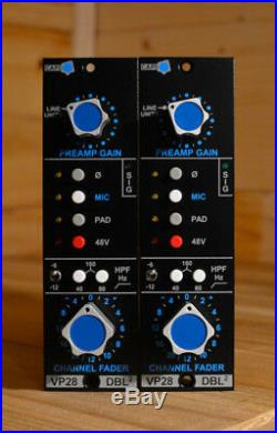 CAPI VP28 Litz 2-stage mic preamp for the 500 series format