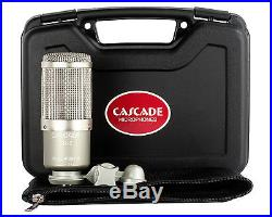 CASCADE DR-2 Double Ribbon Microphone Front Logo Slightly Off Center