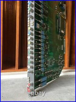 Calrec Q2 Q series recording console PQ4308 Channel Strip (preamp, EQ, comp) S2