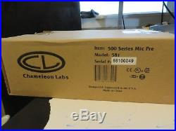 Chameleon Labs 581 500 Series Preamp Excellent Condition