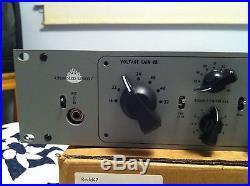 Chandler EMI Redd. 47 Single Channel Tube Mic Preamplifier 4 mos light use Mint