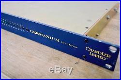 Chandler Germanium mic preamp DI rack unit near MINT-microphone preamp for sale