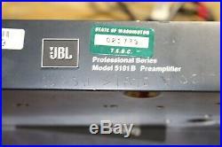 Class A Discrete 5101B JBL UREI Microphone pre-amplifier 5901 Audio transformer