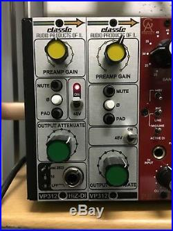 Classic Audio Products of IL VP 312 500 Series Preamp