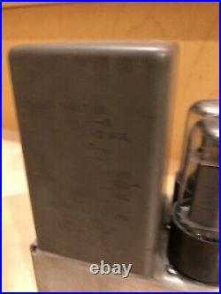 Collins 356B-1 Tube Program Monitor Amplifier Mic Preamplifier preamp microphone