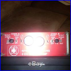 Custom Made Microphone Preamp Units For Neve Ssl Api Other Gear Made To Order