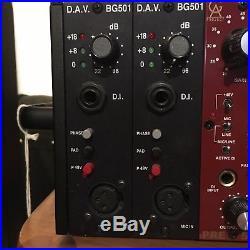 DAV BG501 Broadhurst Gardens 500 series microphone preamp & DI unit