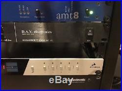 DAV Electronics BG1U Broadhurst Gardens Dual Preamp & DI Rackmount Version