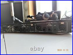 DBX 386 Dual Vacuum Channel Tube Mic Preamp