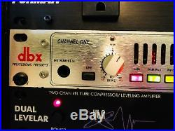 DBX 386 Dual Vacuum Tube Preamp WithDigital Out